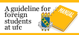 Banner para Guideline for foreign students at UFC
